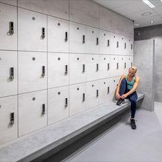 Community Space, Changing Room, Lockers, Locker Storage, Room Ideas, Sport, Cabinet, Business, Furniture