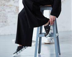 Georgina Goodman's elegant new sneakers