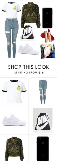 """""""Untitled #263"""" by timcaaa on Polyvore featuring Miss Selfridge, Topshop, NIKE and Ganni"""