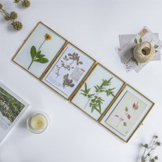 Handmade Tabletp Brass Rectangle Glass Photo Picture Display Folding Screen Type Frame Clip Modern Vertical Decor Card Holder X - NCYPgarden Easter Coloring Pages, Coloring Pages For Kids, Paeonia Tenuifolia, Gift Card Boxes, Glass Photo, Reception Card, Handmade Copper, Card Envelopes, My New Room