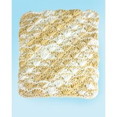 Lily Sugar 'n Cream Shell Stitch Dishcloth