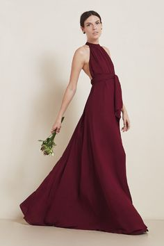 The Isabel Dress https://thereformation.com/products/isabel-dress-merlot