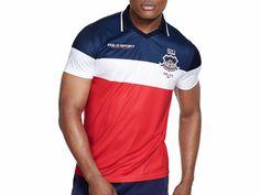 $125 NWT Ralph Lauren Polo Performance Sport USA Jersey Shirt  L Red White Blue #PoloSportRalphLauren #Jerseys