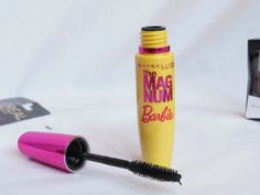 Maybelline Magnum Barbie Water proof Mascara Review