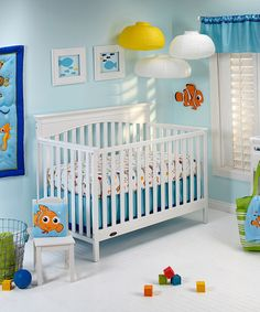 Another Great Find On Zulily Finding Nemo Deluxe Four Piece Crib Bedding Set