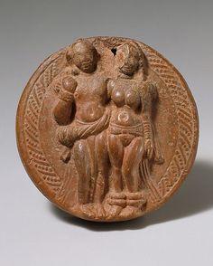 Loving Couple (Mithuna), 1st–2nd century. India (Uttar Pradesh, Mathura). The Metropolitan Museum of Art, New York. Gift of Cynthia Hazen Polsky, 1986 (1986.506.11)