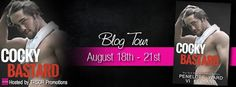 TLBC's Book Blog: Book Tour...Cocky  Bastard by: Vi Keeland and Pene...