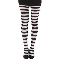 Striped Tights Hosiery | Punk Gothic Alternative ($39) via Polyvore featuring intimates, hosiery, tights, fishnet pantyhose, fishnet stockings, fishnet tights, print tights and stripe tights