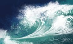 White ocean waves on blue sky background - Computer Illustration Stock Photo Alternative Energy Resources, Reading Horizons, Steam Learning, Disruptive Innovation, Stem Science, Science Ideas, Teaching Science, Science Experiments, Thermal Energy