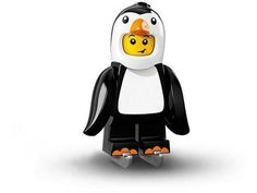 Penguin Boy – Series 16 LEGO Minifigure All the Minifigures packets are opened to guarantee that there's the correct Minifigure inside. Every minifigure comes with its accessories, leaflet and the opened packet. Lego Minifigure, Lego Ninjago, Lego Penguin, Penguin Costume, Diy Educational Toys, All Lego, Lego News, Lego Marvel, Lego Creations