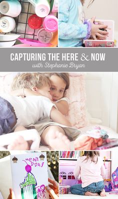 Capturing life's everyday details - here and now! Great tips. Capture more of your kids everyday!