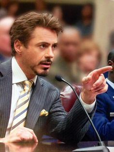 Tony Stark as Robert Downey Jr. Wait.. what?!                                                                                                                                                      More