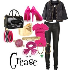 My creation inspired by Grease character Sandy Olsen played by Olivia Newton-John.