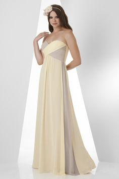 2015 Zipper Up Sweetheart Chiffon Sleeveless Floor Length Bridesmaid / Prom Dresses By bari jay 864