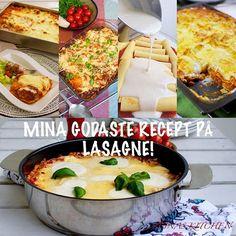 Här kommer mina favoritrecept på lasagne samlade på en plats. Välj din favorit och bjud på lasagne till kvällens middag🤗 Recepten hittar du i länken i min profil➡@zeinaskitchen
