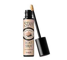 Benefit Cosmetics Stay Don't Stray Eyeshadow Primer - Makeup Products Fenty Maybelline Concealer, How To Apply Concealer, Cream Concealer, Makeup Storage, Makeup Organization, Contour Makeup, Eye Makeup, Color Correcting Concealer, Makeup Artist Tips