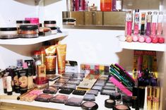 Coco Rocha's vanity