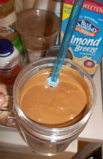 Meals and Messes: Brownie Batter Shake and THM Unsweetened Almond Milk C Canned Pumpkin Peanut Butter (no sugar added) Heavy Cream Cocoa Powder 1 t Truvia or sweetener of choice t Glucomannan 6 ice cubes Shake Recipes, Low Carb Recipes, Protein Recipes, Healthy Recipes, Healthy Smoothies, Healthy Drinks, Healthy Food, Eating Healthy, Trim Healthy Momma