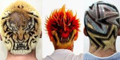 Unbelievable hair tattoos from Japan! - The HairCut Web