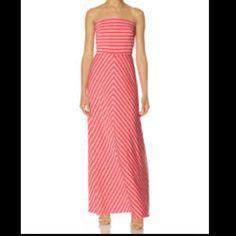 NWOT Pink Maxi NWOT never worn! Slightly hemmed for length. The Limited Dresses