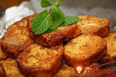 Rabanadas (Pain perdu) - Powered by Portuguese Desserts, Portuguese Recipes, Turkish Recipes, Ethnic Recipes, Dessert Dishes, Dessert Recipes, Easter Recipes, Sweet Recipes, Food And Drink