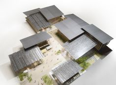 "Kengo Kuma & Associates have won the proposal for ""Tomioka City Hall"" | kengo kuma and associates"