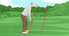 Golf Swing Basics: The Fundamentals You Need to Know - The Left Rough Golf Basics, Range Targets, Woods Golf, Club Face, Positive Self Talk, Big Muscles, Golf Lessons, Putt Putt, Freshman Year