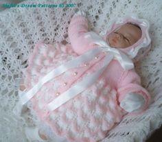 PATTERN in PDF Baby Knitting Doll Pattern Reborn by shifio on Etsy, $3.99