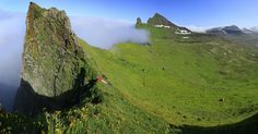 Hornstrandir in the Westfjords of Iceland is among the top 10 places to see in Iceland Guide To Iceland, Voyage Europe, Adventure Tours, Iceland Travel, Round Trip, Nature Reserve, Stunning View, Hiking Trails, Where To Go