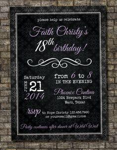 13th 15th 16th Birthday Boy or Any AGE Adult Birthday Party ...
