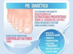 Infografía sobre el pie diabético y sus cuidados básicos