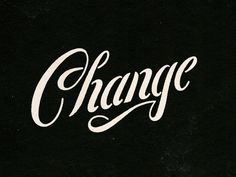 A little nugget from a design I was working on today. This is one of those words that seems to find it's way into my portfolio on a weekly basis. That seems to be one thing that hasn't changed in a... Hand Drawn Lettering, Script Lettering, Script Type, Types Of Lettering, Calligraphy Letters, Lettering Design, Typography Love, Typography Inspiration, Typography Letters