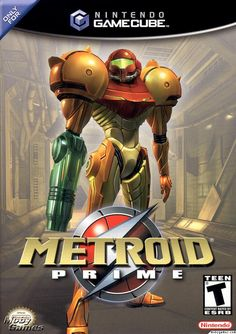 Metroid Prime is first person shooter game I ever played, and it was on the Nintendo GameCube and the Nintendo Wii. I like the GameCube version better because the controls are better than the Wii. Samus Aran, Metroid Samus, Gamecube Games, Nintendo Games, Arcade Games, Nintendo 64, Metroid Prime Gamecube, Retro Video, Viewtiful Joe