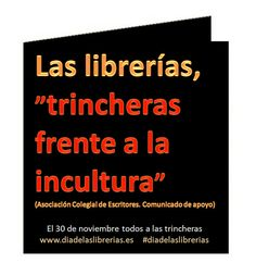 Trincheras frente a la incultura by Librerías CEGAL, via Flickr