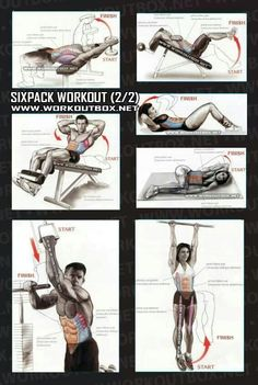 6 pack abs workouts