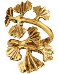 Oscar de la Renta   Gingko-Leaf Ring    Lyst