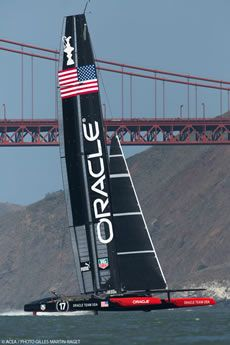Three AC72s training for the first time on San Francisco Bay | The Daily Sail
