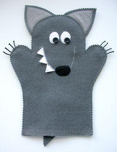 Made by Irinelli: Три поросёнка и волк
