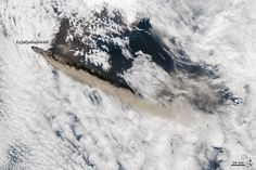 nasa  earth observatory iceland volcano rises about a sea of clouds http://earthobservatory.nasa.gov/Features/Gallery/aqua.php?src=features-hp
