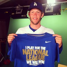 """I play for the National League and we will win!"""