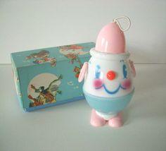Vintage Humpty Dumpty Baby Rattle
