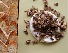 Wild Mushroom and Truffled Brie: You can say any of these words (truffle, brie, mushrooms) and it is a guaranteed swoon. But when you put them all together? It gets a little tricky to hold back.