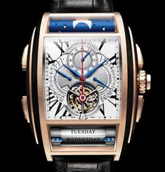 a3aab86ce26 No other wristwatch has featured a tourbillon with mono-pusher column wheel  chronograph