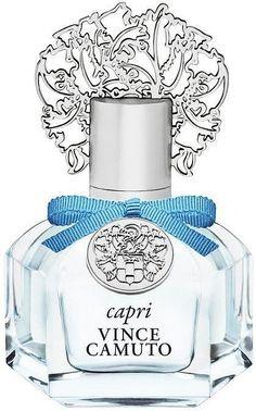 Vince Camuto Capri Eau De Parfum - No Color Glass Peach Blossom Perfume, Flower Perfume, Blue Perfume, Antique Perfume Bottles, New Fragrances, Fragrance Parfum, Vince Camuto Perfume, Edc, Versace Perfume