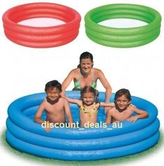 4 Pieces Life Buoy Ring Swim Swimming Pool Seaside Australia