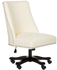18 Modern Farmhouse Office Chairs for Your Workspace - Finding Sea Turtles Swivel Office Chair, Home Office Chairs, Home Office Furniture, Office Desk, Loft Office, Retro Office, Cool Chairs, Bar Chairs, Desk Chairs