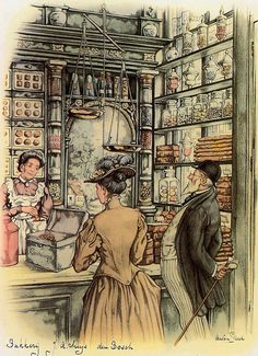 Anton Pieck (1895-1987) was a Dutch painter and graphic artist. The work of Anton Pieck contains paintings in oil and watercolour, etchings...