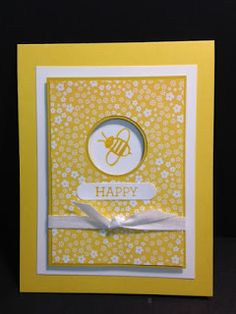 Garden in Bloom, Friendship Card, Stampin' Up!, Rubber Stamping, Handmade Cards