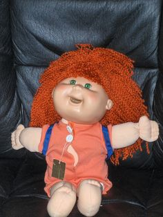 Red Headed Cabbage Patch Doll