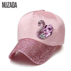 d528e815cdd Brands NUZADA New 2017 Ladies Women Baseball Caps Snapback Spring Summer  Autumn Bone Hip Hop Hats